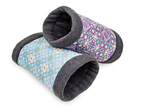Bunny Fleecy Tunner Coussin rongeurs, Rose