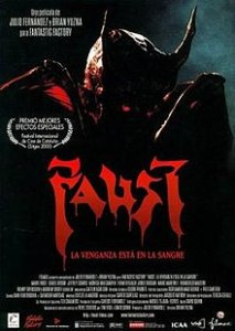 Poster for Faust: Love of the Damned.