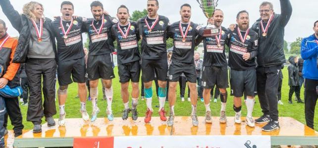 Faustball Final4 2019: Finale Männer – SVD Diepoldsau vs. Faustball Widnau – 4:0 (11:9/11:9/11:8/11:9)
