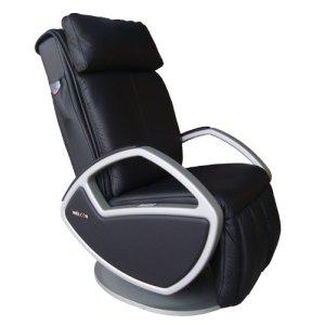 Welcon Fauteuil de massage en cuir avec fonction massage Shiatsu