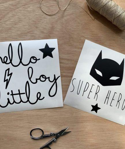 planche-sticker-hello-little-boy-super-hero-faut-rever-for-ever.JPG