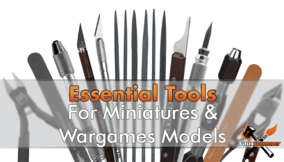 Best Brushes for Painting Miniatures & Wargames Models