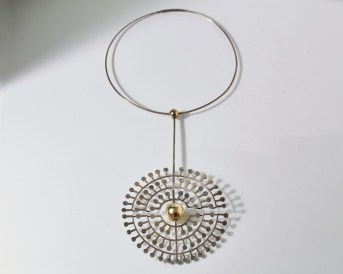 sterling silver statement necklace
