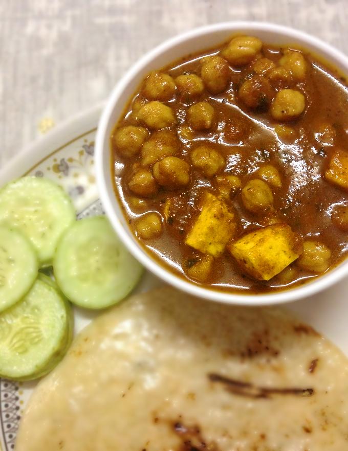 paneer chole masala recipe