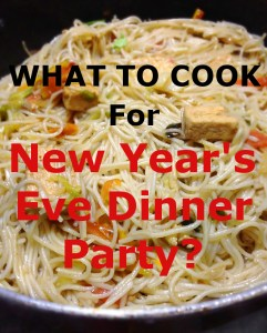 What to cook for new year's eve dinner party for vegetarians?