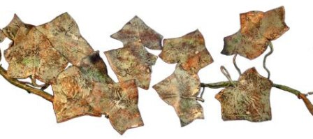 Burnt Brown Bag Ivy
