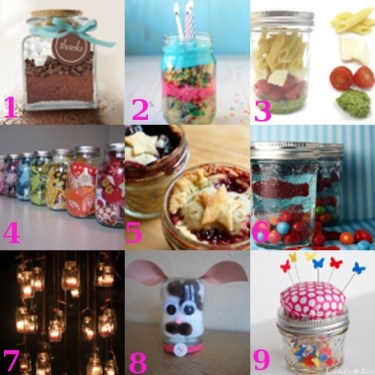 Gifts in a Jar ideas
