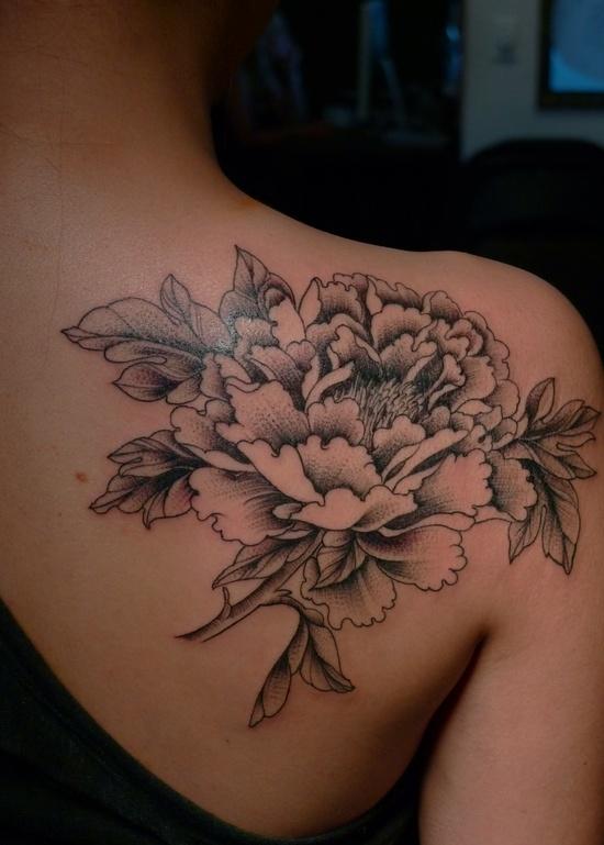 Large Flower Shoulder Tattoo Favething Com