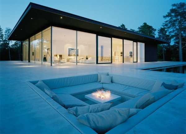 Fire Seating Ideas Pit Sunken