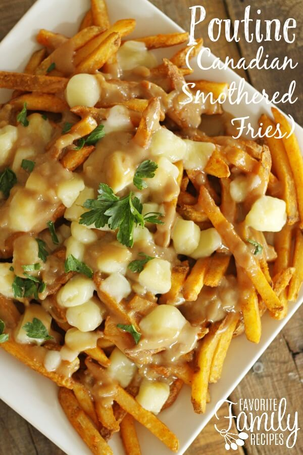 Poutine Canadian Smothered Fries