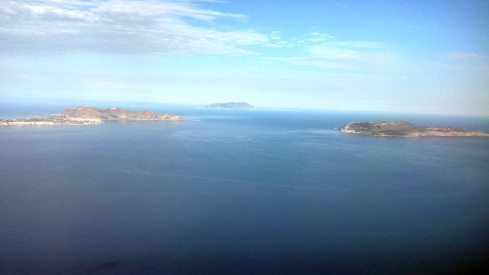 Isole Egadi vista Aerea