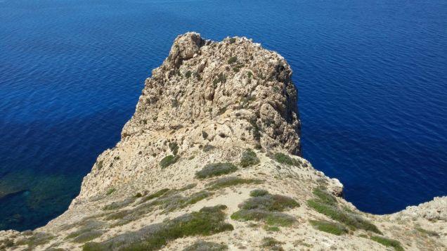Punta Troia Marettimo Resti della Chiesetta