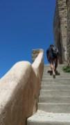 Salita al Castello di Punta Troia