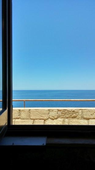 Castello di Punta Troia Finestra sul mare