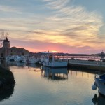 Photo of the day: sunset on the Egadi from Marsala