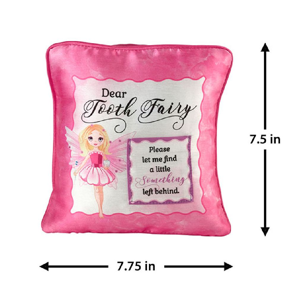 lillian rose pink fairy tooth fairy pillow