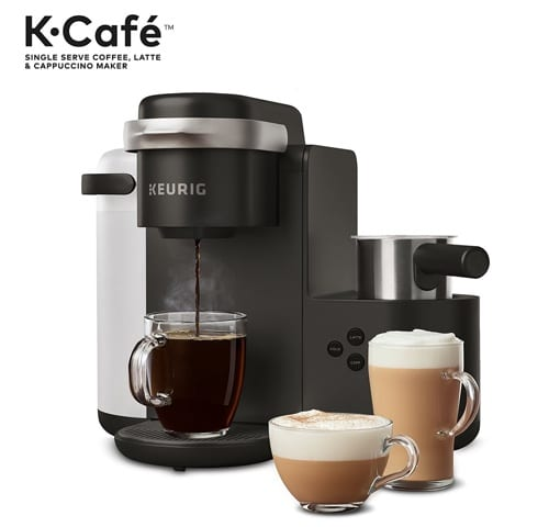 Review Of Keurig K Cafe Single Serve Coffee Latte And Cappuccino Maker