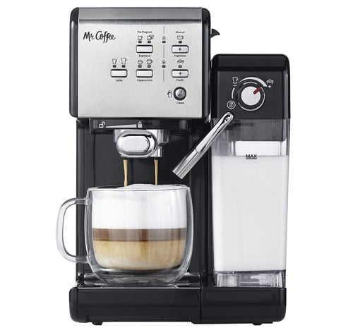 004492e2aa5 What Are The Features of Mr. Coffee One Touch CoffeeHouse Espresso and  Cappuccino Maker