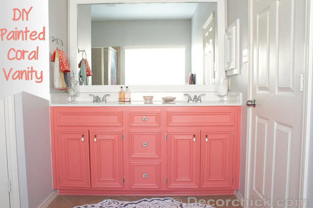 coral reef and agreeable gray bathroom paint colors favorite paint colors blog. Black Bedroom Furniture Sets. Home Design Ideas