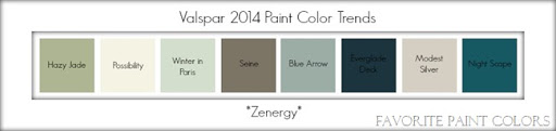 2014 Paint Color Trends {Benjamin Moore & Valspar}