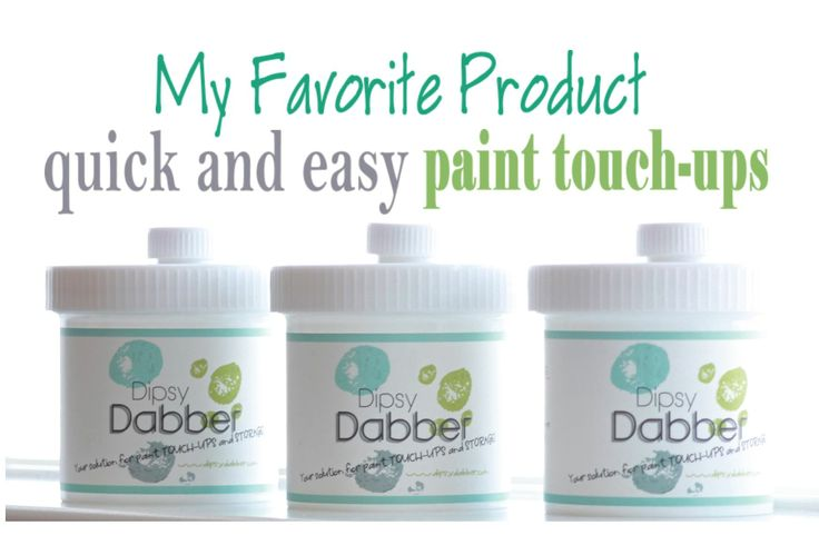 My Favorite Product For QUICK And EASY Paint Touch-ups