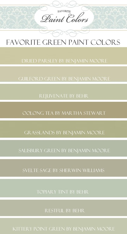 my favorite green paint colors favorite paint colors blog