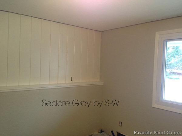 Sedate Gray by Sherwin-Williams