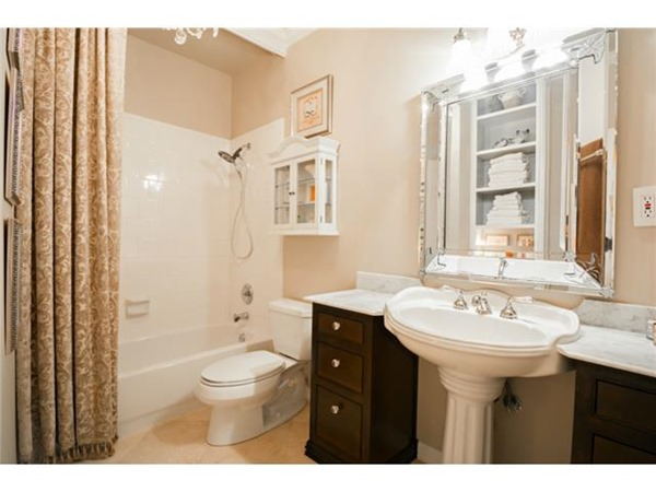Whole House Color Scheme - hall bath