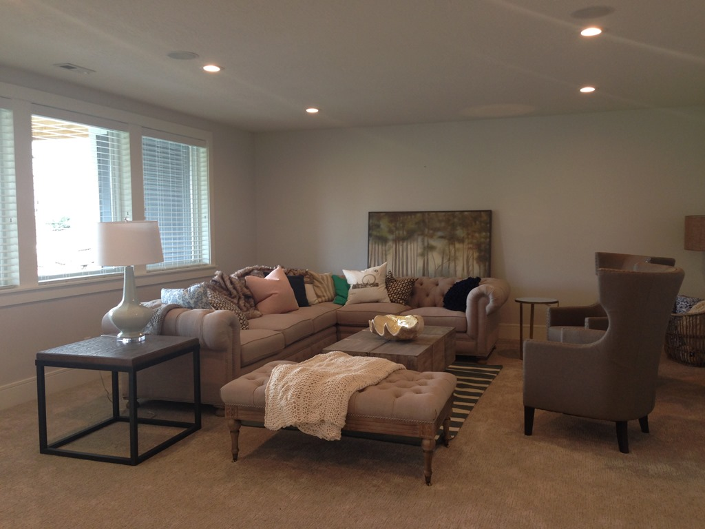 More paint colors from the uv parade of homes my favorite home - Downstairs Paint Color Classic Grey By Benjamin Moore