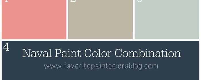 Naval Paint Color Combination