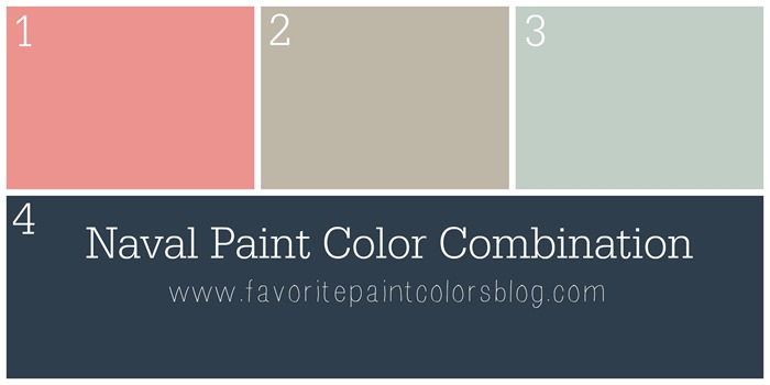 Naval Paint Color Combination