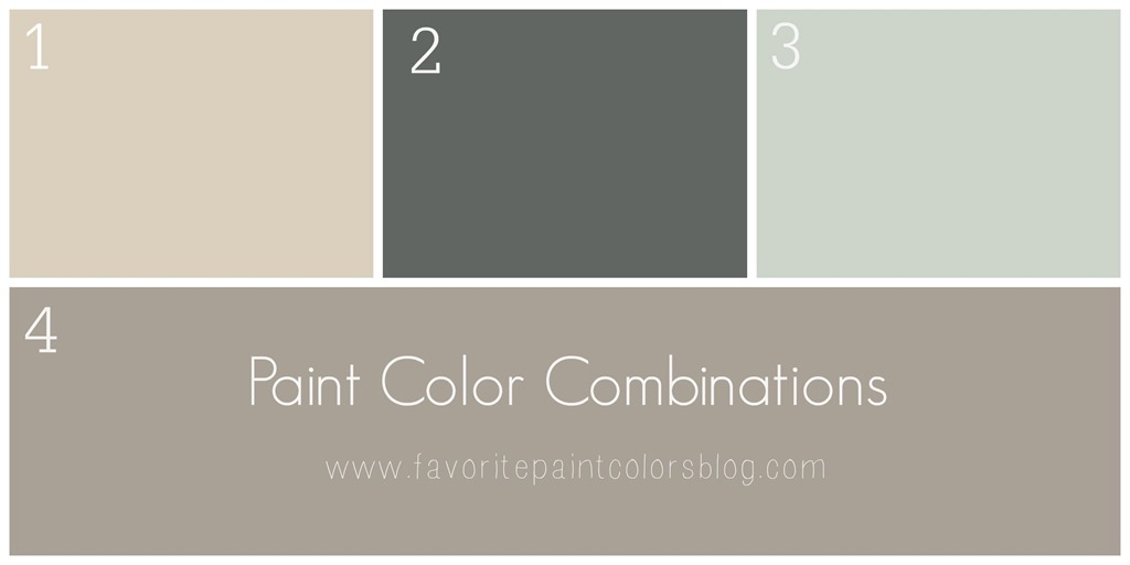 Color combinations favorite paint colors blog for Sherwin williams paint combinations
