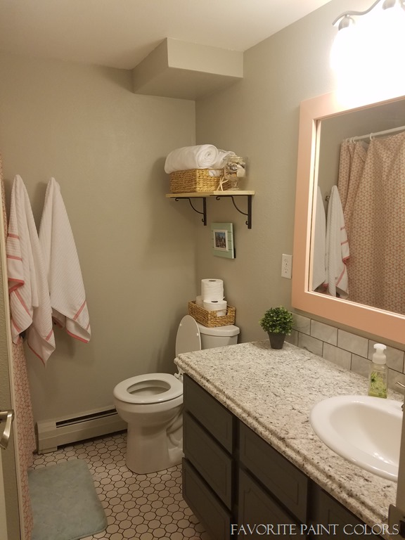 Spectacular Girls bathroom after Favorite Paint Colors