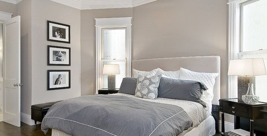 Hampshire Taupe {master bedroom paint color}