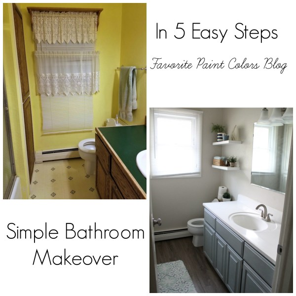Simple Bathroom: Favorite Paint Colors Blog