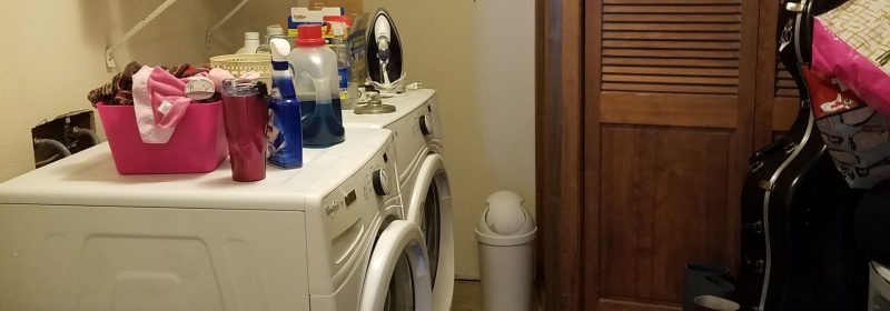 Our Laundry Room Before and After