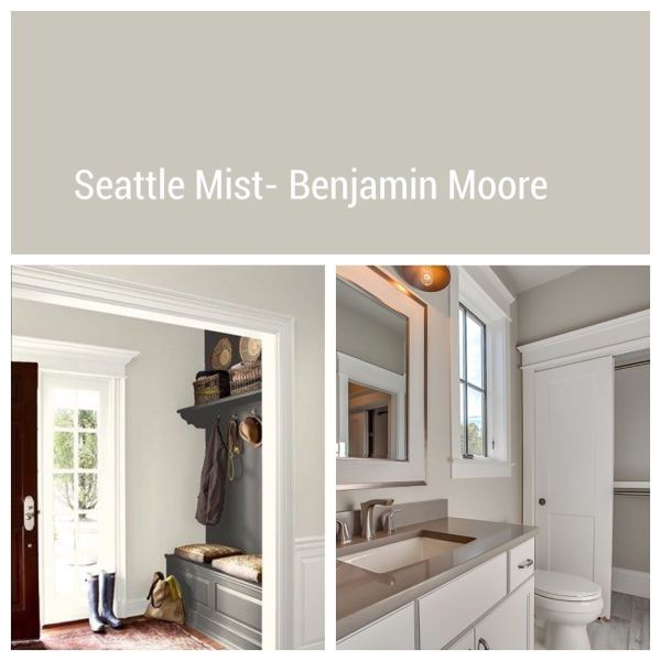 Seattle Mist by Benjamin Moore