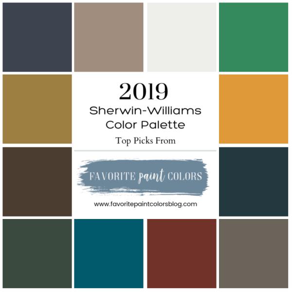 Sherwin Williams Color Favorites: Favorite 2019 Sherwin-Williams Paint Colors