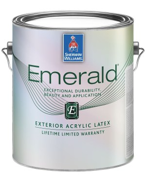 Sherwin-Williams Emerald - the best paint for exterior