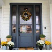Fall Front Porch Inspiration + Paint Colors