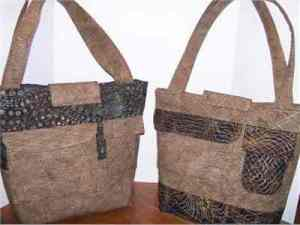Quilted Chocolate Brown Purses