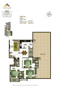 The Carmel Heights Floor plan