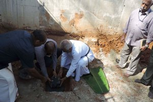 Petals -Foundation Stone Laying
