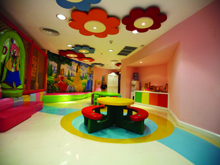 Le Royale indoor play-area
