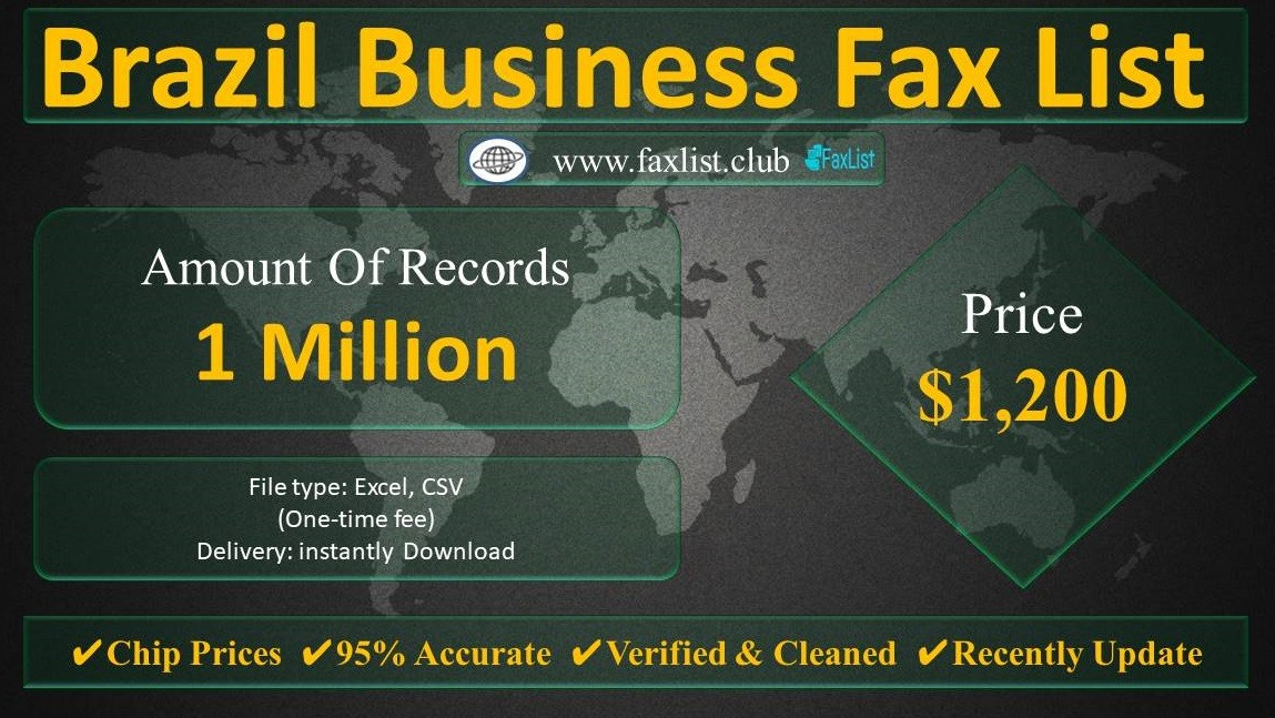 Brazil Business Fax List