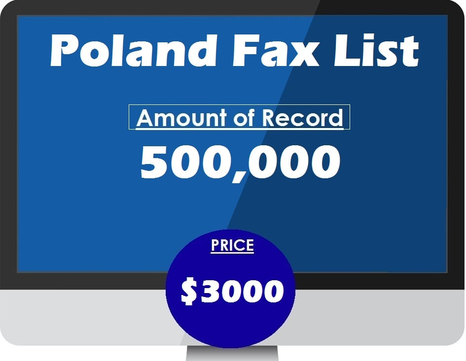 Buy Poland Fax List