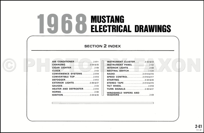 68 mustang wiring schematic  ford 9n wiring diagram with