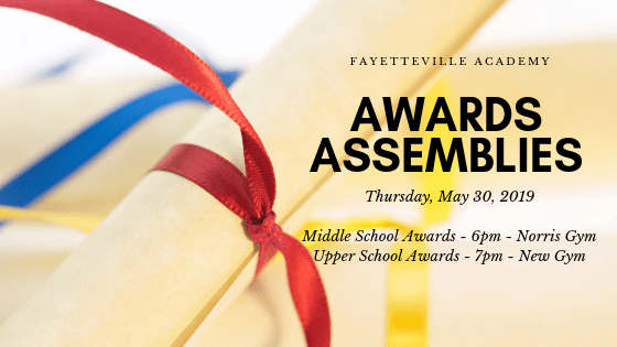 Middle and Upper School Awards