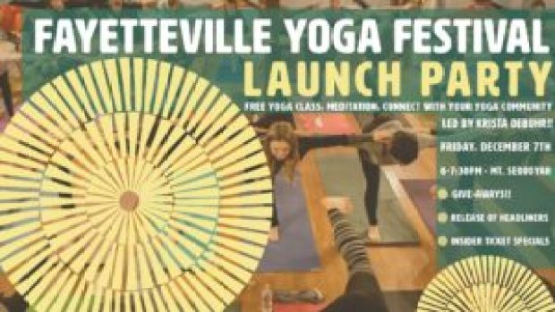 Fayetteville Yoga Fest in Fayetteville Arkansas at Mount Sequoyah. Yoga classes, music, local vendors, food. A yoga festival in Northwest AR featuring local and national yoga teachers from Arkansas, Colorado, Oklahoma, Dallas, Fort Worth, and California.