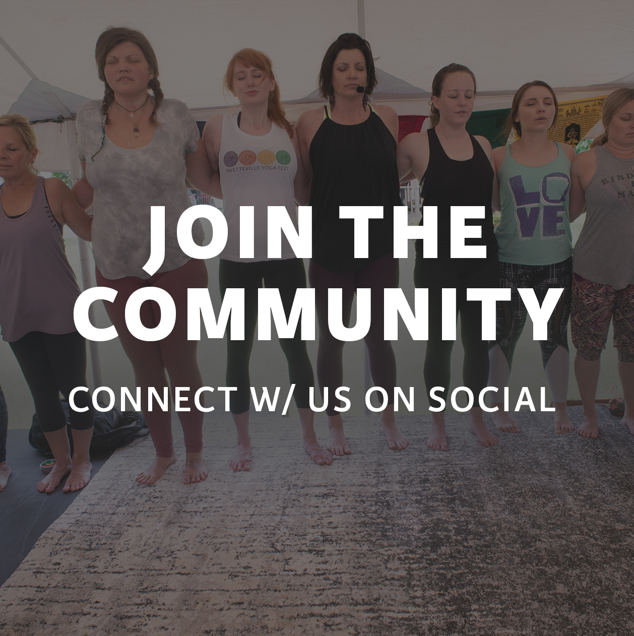 Join the community. Follow Fayetteville Yoga Fest on Instagram.